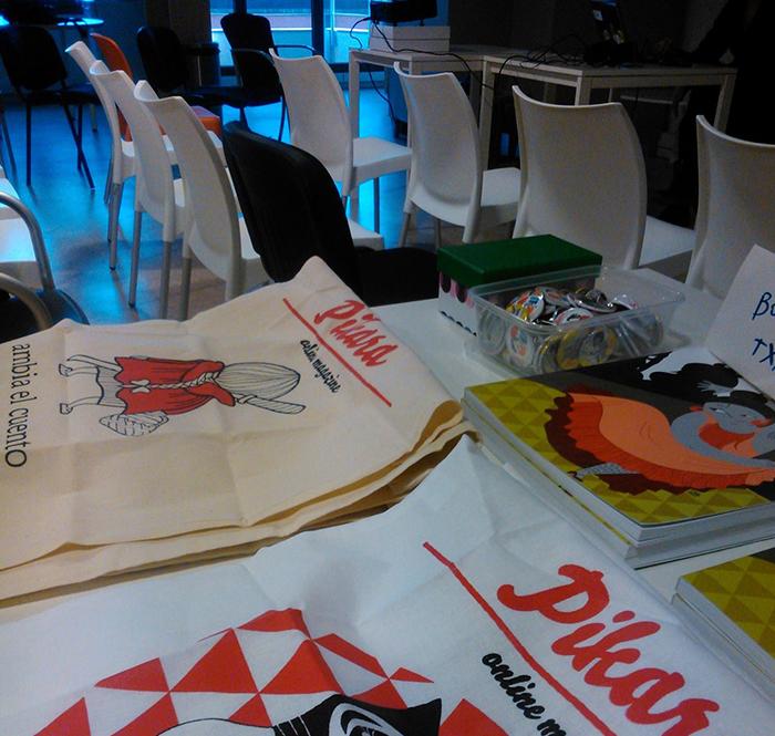 showroom i presentació de pikara magazine